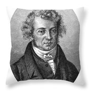 Andre Marie Ampere Throw Pillow