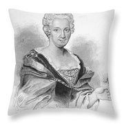 Anna Maria Sibylla Merian Throw Pillow