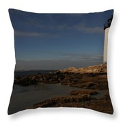 Annisquam Light Throw Pillow