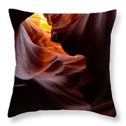 Antelope Canyon Page Arizona Throw Pillow
