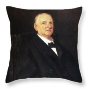 Anton Bruckner (1824-1896) Throw Pillow