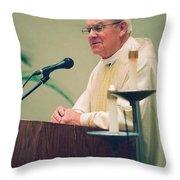 Archbishop Raymond Hunthausen Throw Pillow