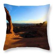 Arches Starburst Throw Pillow