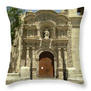 Arequipa Peru Throw Pillow