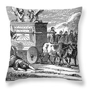 Ark Of Covenant Throw Pillow