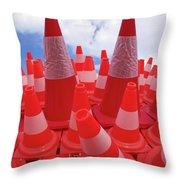 Arrecife Play Room Art Throw Pillow