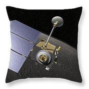 Artists Concept Of The Lunar Throw Pillow