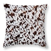 Aspen Mocha Latte Throw Pillow