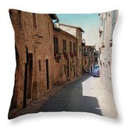 Assisi Italy Throw Pillow