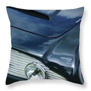 Aston Martin 1963 Aston Martin Db4 Series V Vintage Gt Grille Emblem -0140c Throw Pillow
