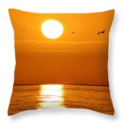 Auburn Sky Throw Pillow