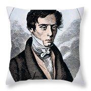Augustin-jean Fresnel Throw Pillow