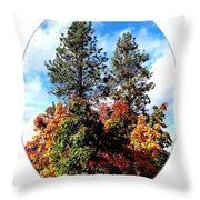 Autumn Beginnings Throw Pillow