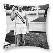 Babe Didrikson Zaharias Throw Pillow