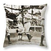 Babe Ruth (1895-1948) Throw Pillow