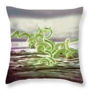 Bacteria, Treponema Pallidum, Sem Throw Pillow