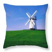 Ballycopeland Windmill, Millisle Throw Pillow