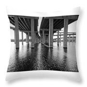 Baltimore By-pass Throw Pillow