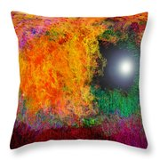 Baptism Throw Pillow by Christopher Gaston