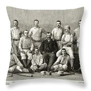 Baseball: Providence, 1882 Throw Pillow