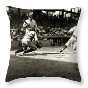 Baseball: Washington, 1925 Throw Pillow