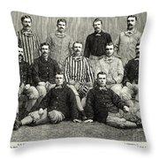 Baseball: White Stockings Throw Pillow