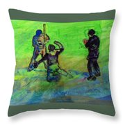 Batter Up Throw Pillow
