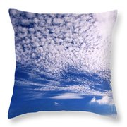 Beautiful Sky And Cloud Formation Throw Pillow