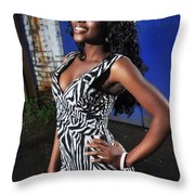 Bel8.0 Throw Pillow