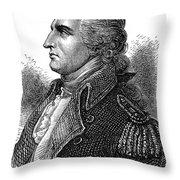 Benedict Arnold (1741-1801) Throw Pillow