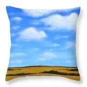 Big Sky Prairie Throw Pillow