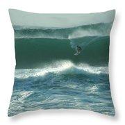 Big Surf Throw Pillow
