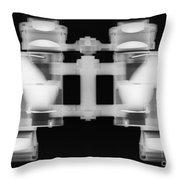 Binoculars X-ray Throw Pillow