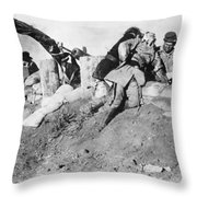 Birth Of A Nation, 1915 Throw Pillow by Granger