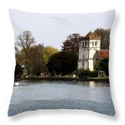 Bisham Abbey Throw Pillow