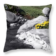 Bishop Creekside Throw Pillow