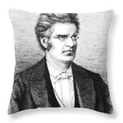 Bjornstjerne Bjornson Throw Pillow
