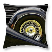 Black Classic Throw Pillow
