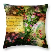 Bloom Home Throw Pillow
