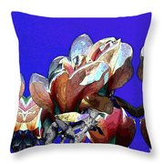 Bloomers Throw Pillow