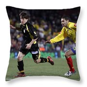 Bojan Krkic Running 2 Throw Pillow