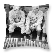 Boston Red Sox, 1916 Throw Pillow