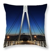Bridge To Twilight Throw Pillow