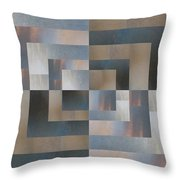 Brushed 27 Throw Pillow