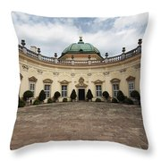 Buchlovice Castle Throw Pillow by Michal Boubin