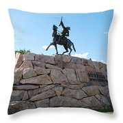 Buffalo Bill Throw Pillow