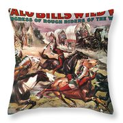 Buffalo Bills Show Throw Pillow