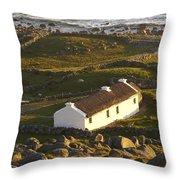 Bunbeg, County Donegal, Ireland Sunset Throw Pillow