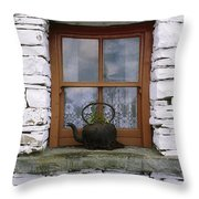 Bunratty Castle And Folk Park, Co Throw Pillow