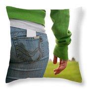 Butt Throw Pillow